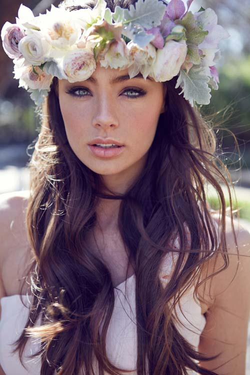 Wedding Hair Flower Ideas 19