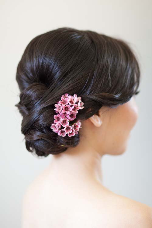 Wedding Hair Flower Ideas 20