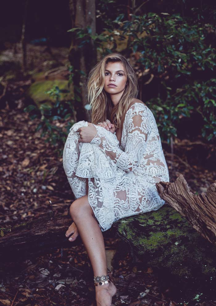 into the woods a bohemian bridal fashion editorial