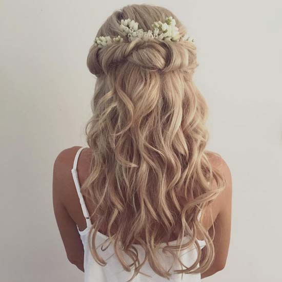 Modern Wedding Hairstyles For The Cool Contemporary Bride: 45 Romantic Wedding Hairstyles