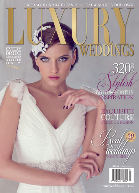 Luxury Weddings Magazine- full of luxurious ideas for every bride-to-be!