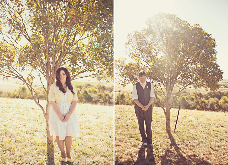 Bride and groom in Love and Lemonade shoot
