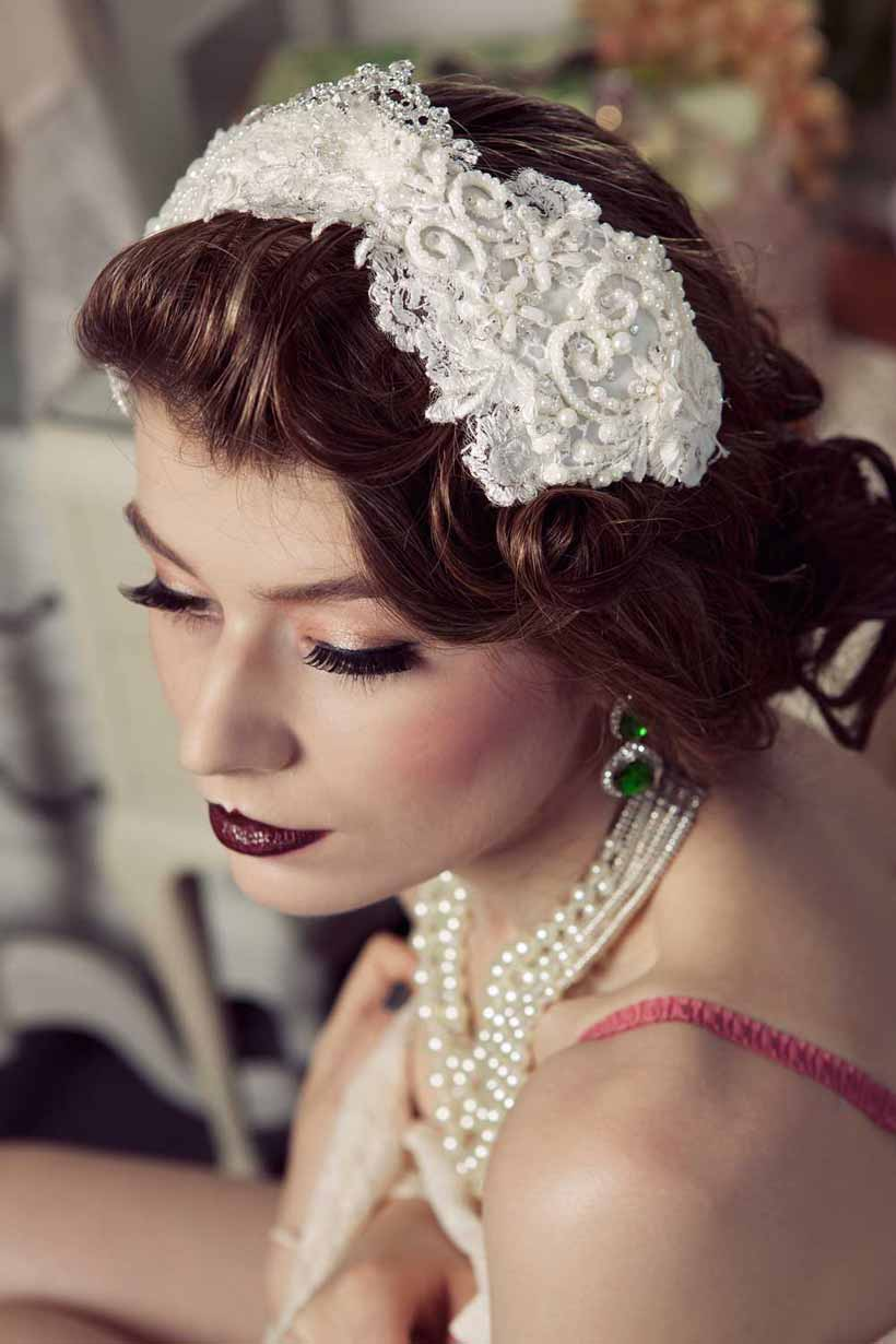 Viktoria Novak - Bridal hair accessories