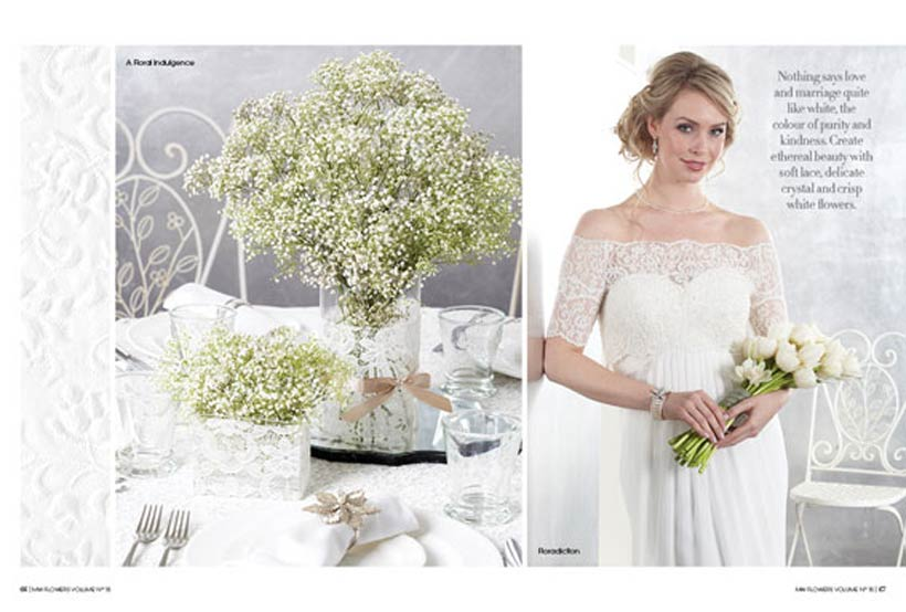Hide White On White - Modern Wedding Flowers Magazine