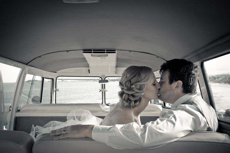 Wedding kiss - Kombi van
