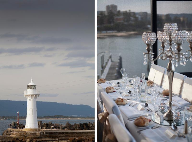 Lighthouse, Wedding Reception