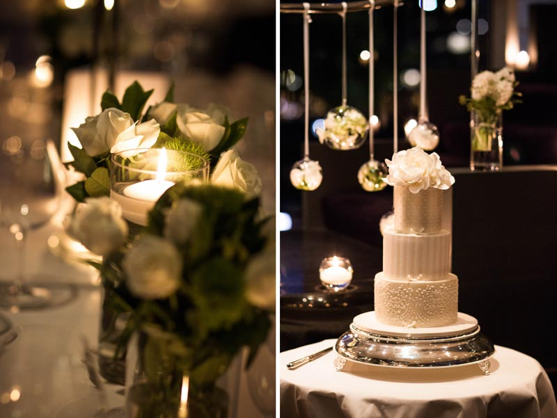 Wedding Flowers & Wedding Cake