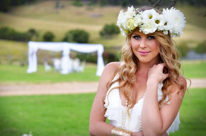 Hippie-bride