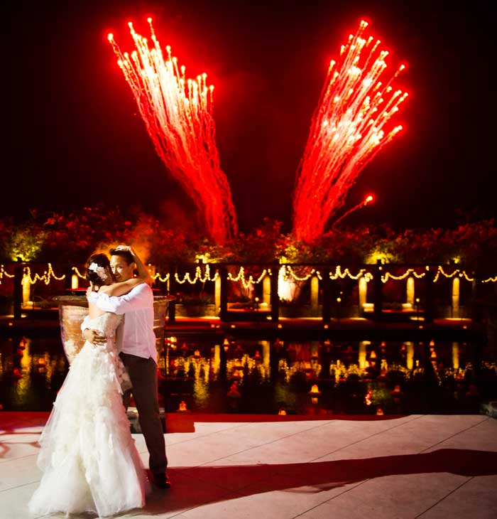 Wedding-fireworks