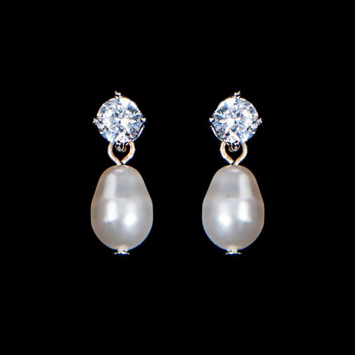 Stephanie Browne Wedding Accessories -Twinkle-Pearl-Earrings