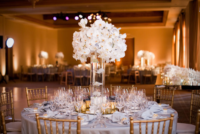 An Orchid Themed Wedding & Charming Modern Wedding Table Settings Photos - Best Image Engine ...