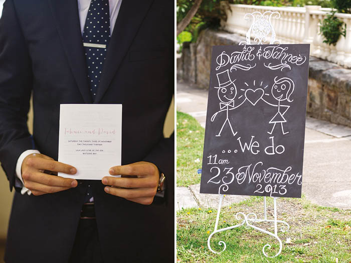 Wedding Stationery and Wedding sign