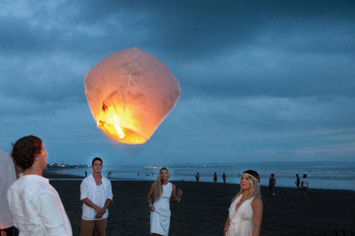 Cocoon beach Club Bali Wedding