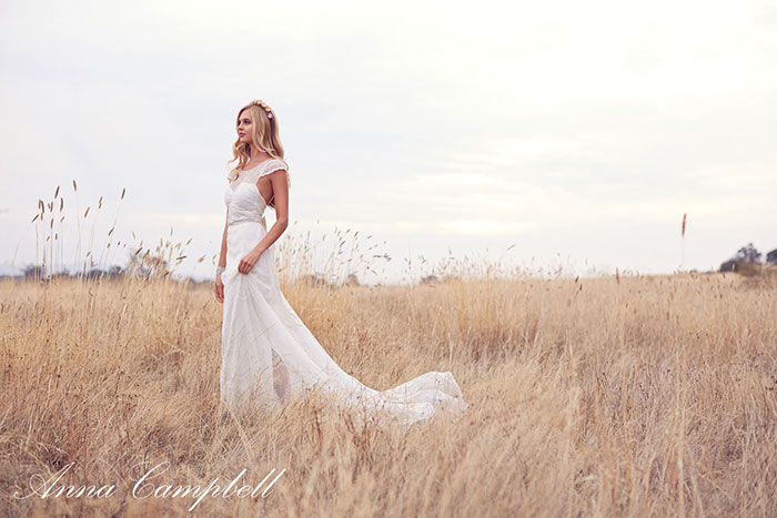 Anna Campbell Wedding Dress Forever Entwined Collection