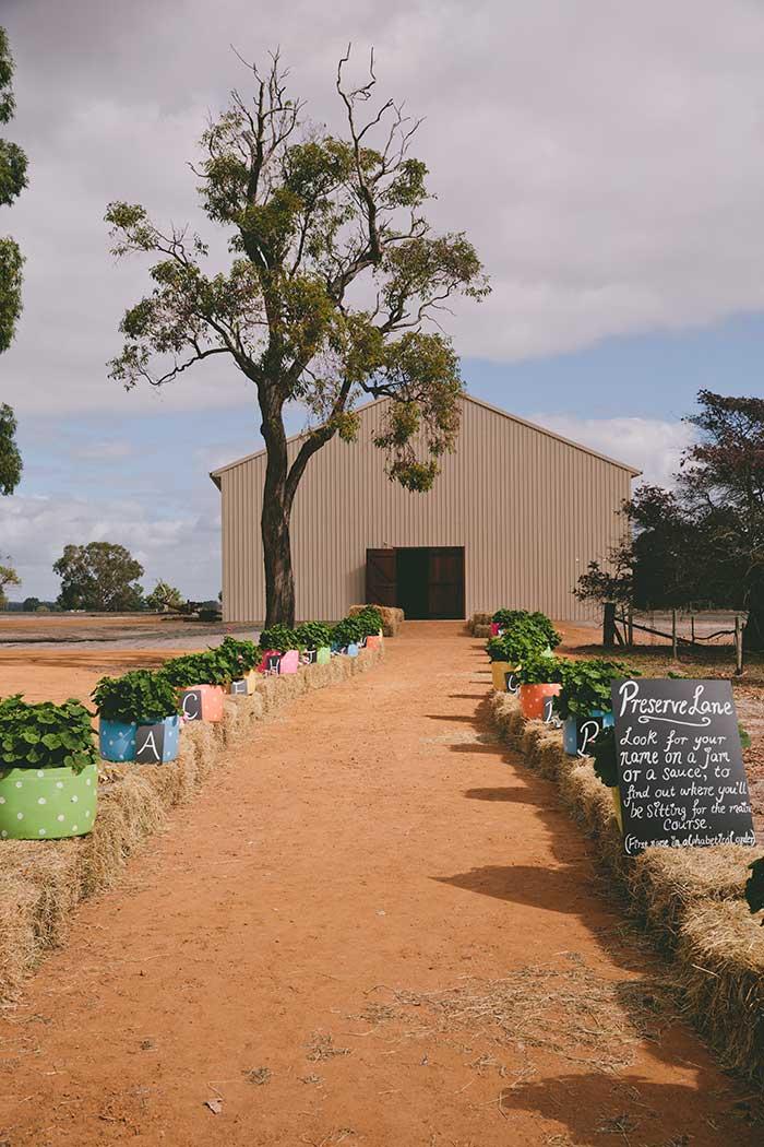 Australian Farm Wedding