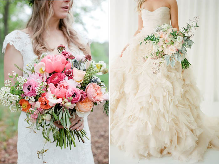 Big Wedding Bouquets