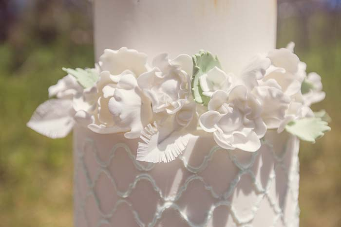 Wedding Cake Flowers