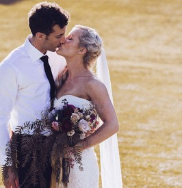 Bryon Bay Meets Old Hollywood Glamour Wedding