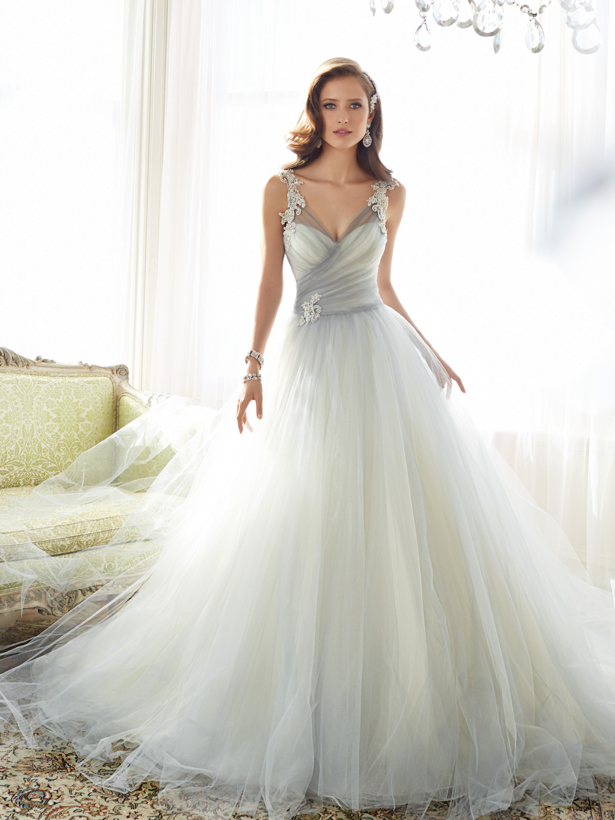 Sophia Tolli Spring 2015 Collection Y11550