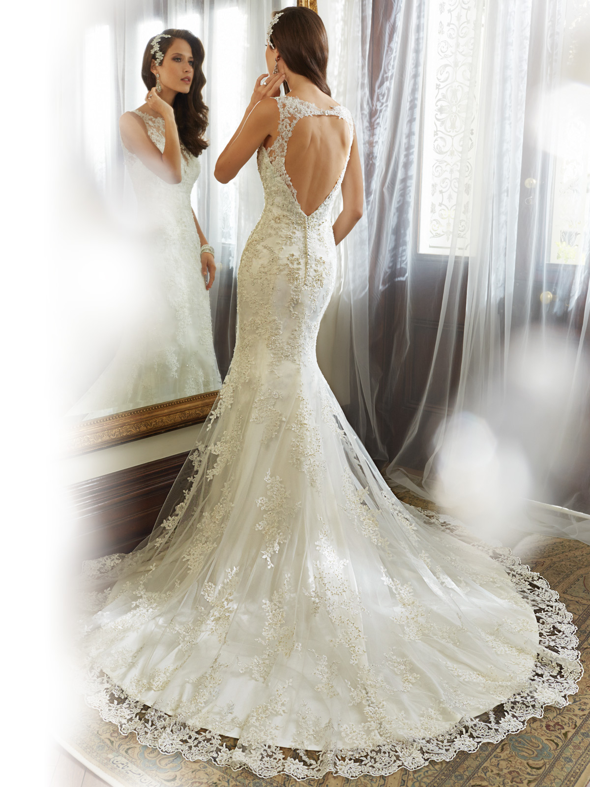Sophia Tolli Spring 2015 Collection Y11557