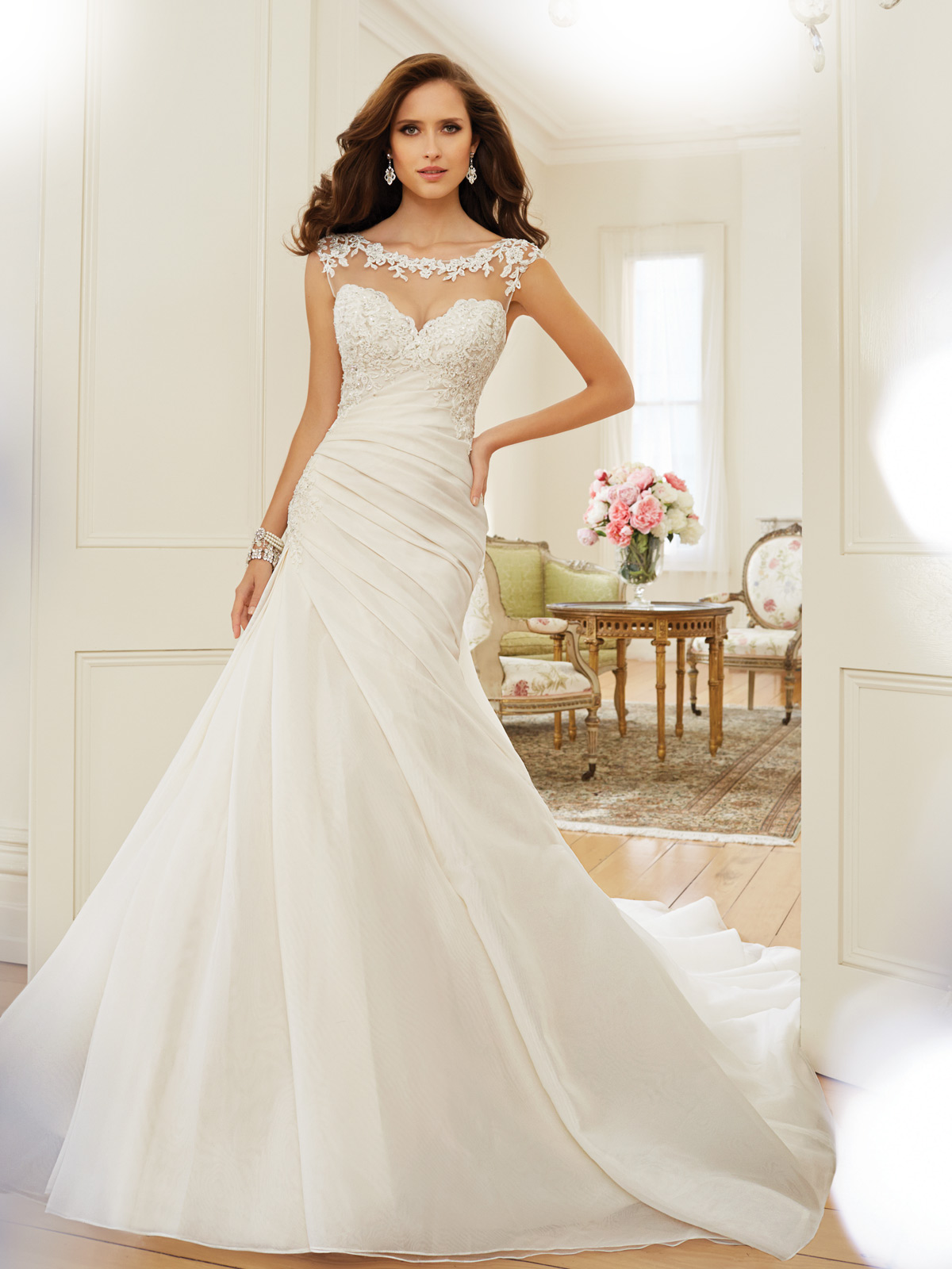 Sophia Tolli Spring 2015 Collection Y11568