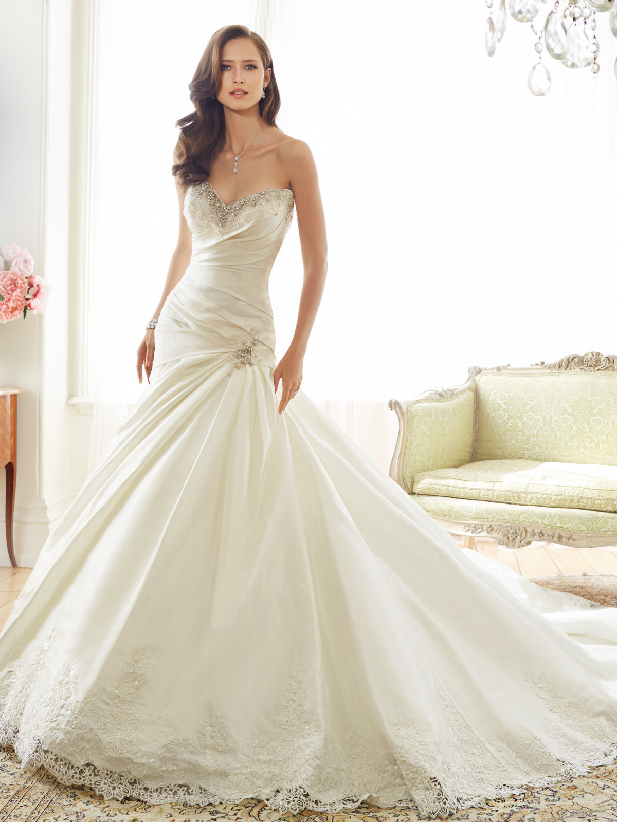 Sophia Tolli Spring 2015 Collection Y11571