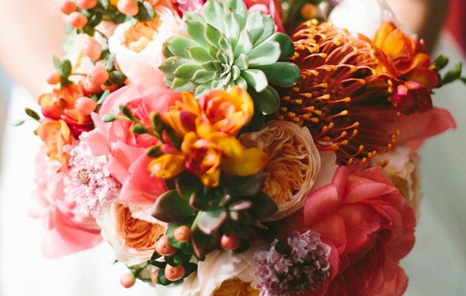 Autumn Inspired Floral Bouquet