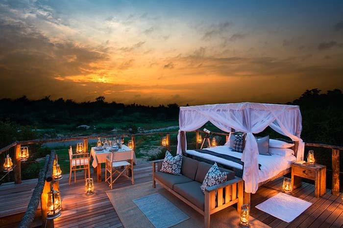 Sleeping under the stars in Africa - Bench International