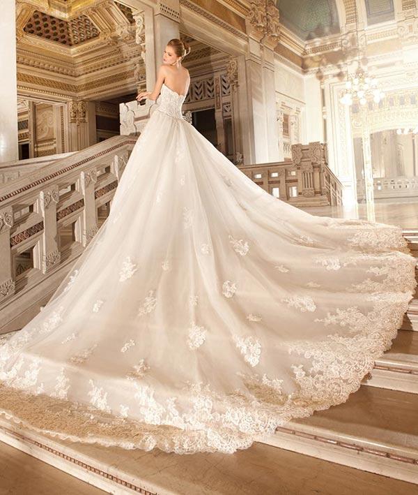 Demetrios Wedding Dress Train
