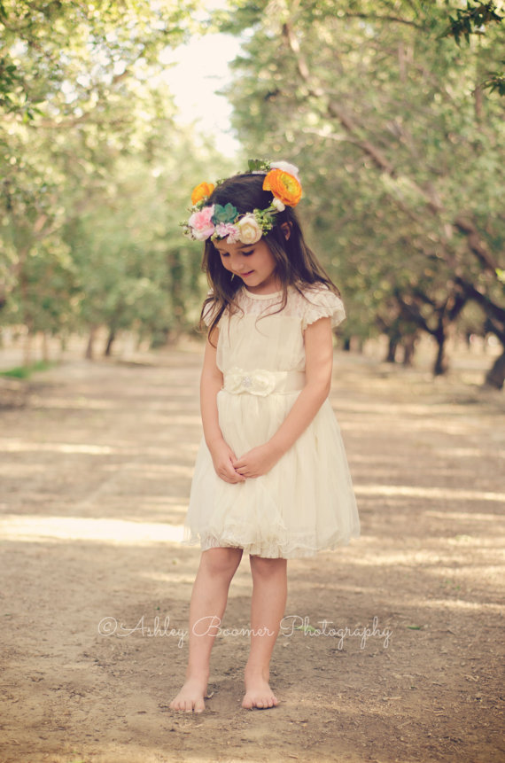 Flower Girl Dress Available at Ava Madison Boutique on Etsy