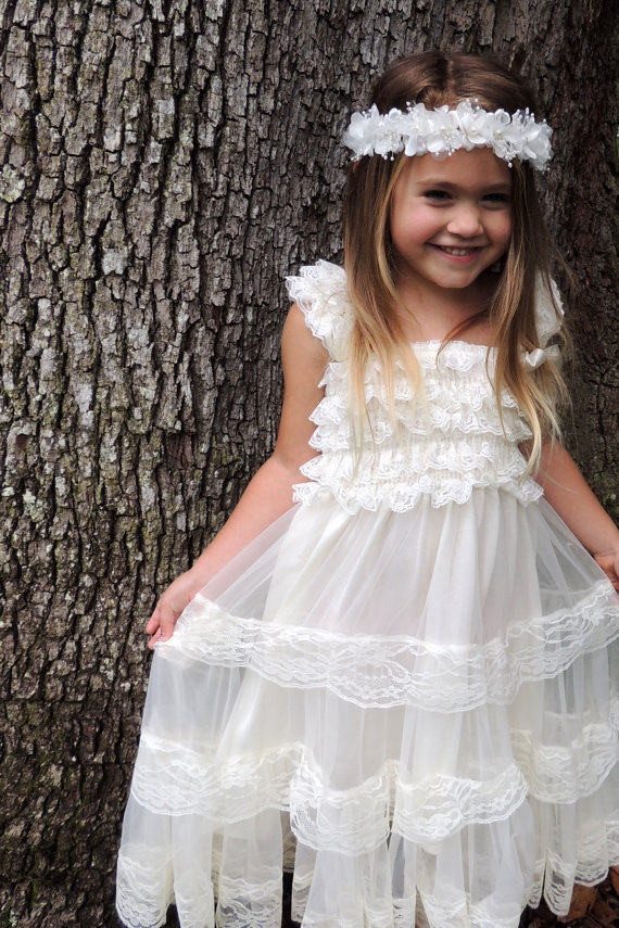 51ab07ce34 Flower Girl Dress available at Gurliglam on Etsy