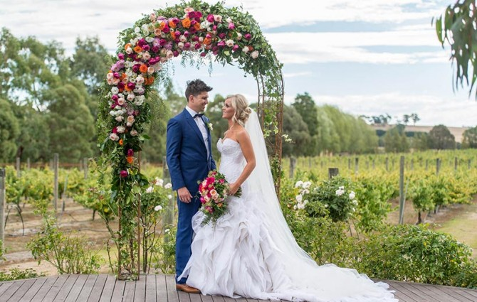 Bright Floral Wedding Day Feature