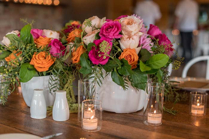 Table Wedding Flowers