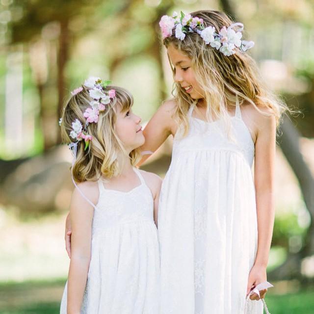 The Best Wedding Instagrams - Flower Girls