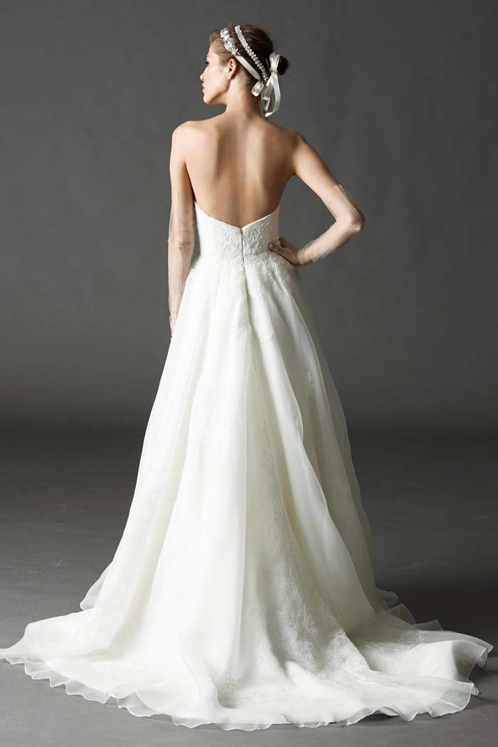 Watters Spring 2015 Asher Gown Back