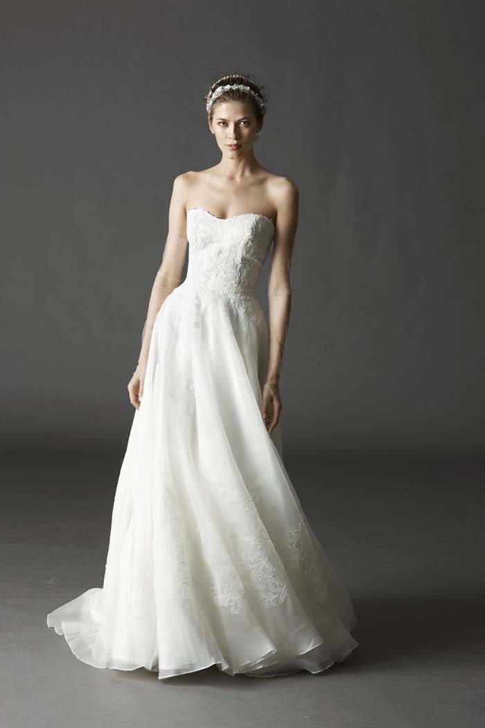 Watters Spring 2015 Asher Gown