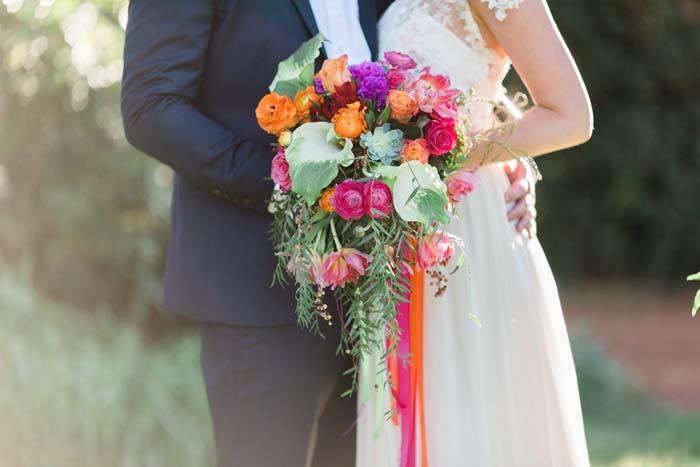 Mexican Fiesta Wedding Flowers