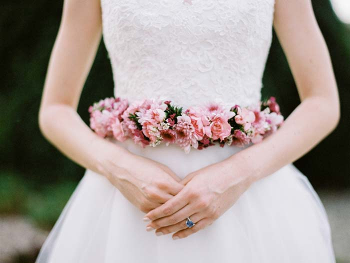 Spring Wedding Flowers Trends - Floral Belt