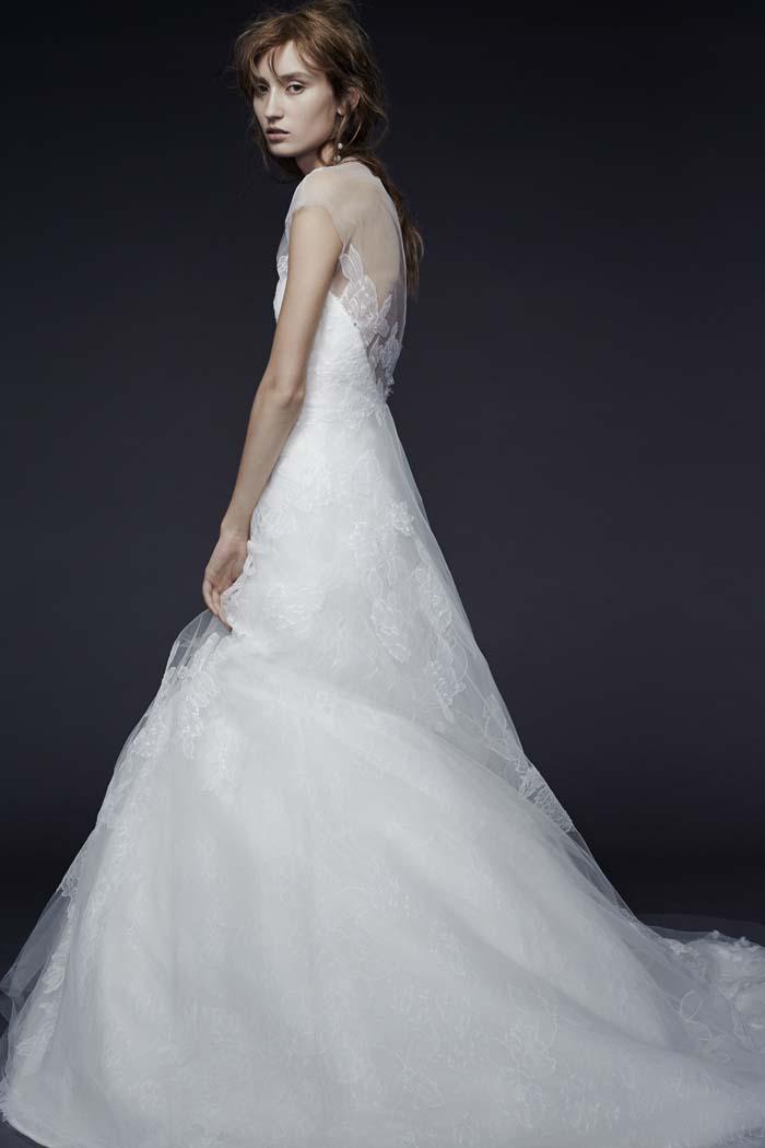 Vera Wang_Fall 2015 Bridal_Look 3