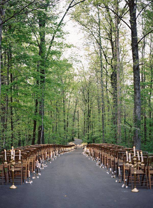 Wedding Aisle Ideas - Clarke Brewer Photography