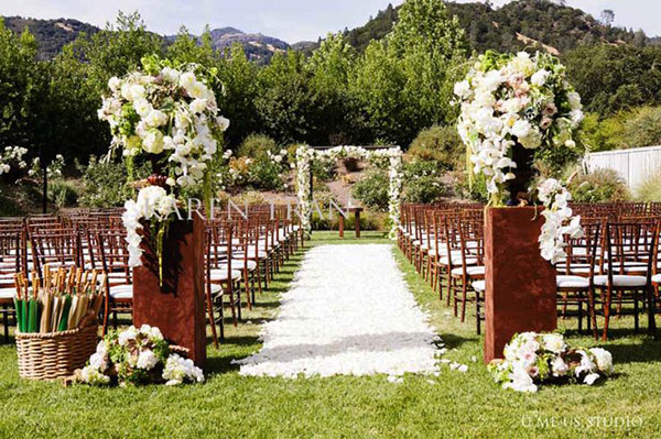 Wedding Aisle Ideas - Karen Tran Events