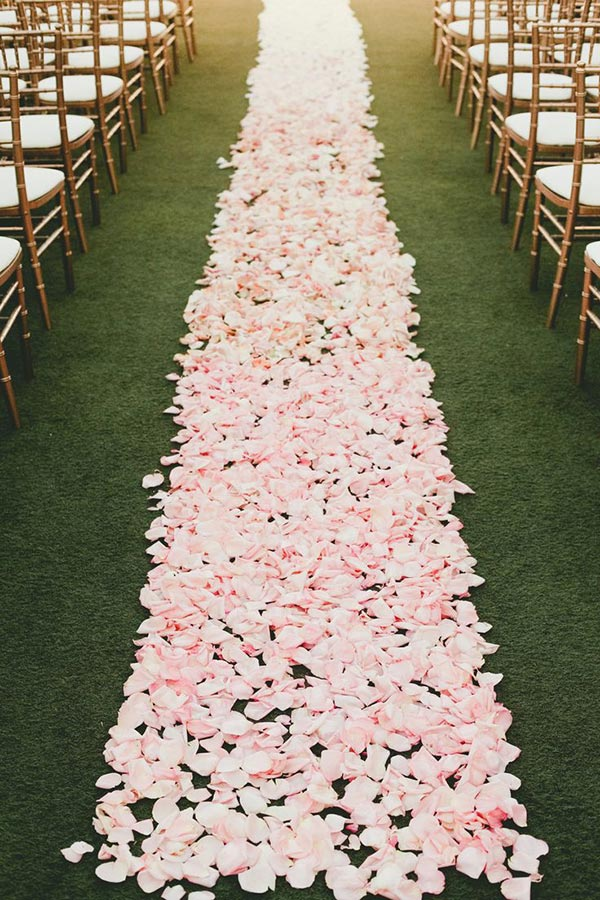 Wedding Aisle Ideas - Flowers by Dolce Designs Studio Photography by Onelove Photography