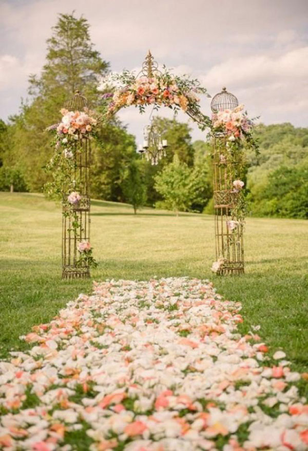 Wedding Aisle Ideas - Krystal Mann Photography
