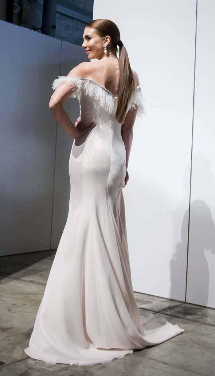 Bianca Back - Jennifer Regan Bridal Couture Collection