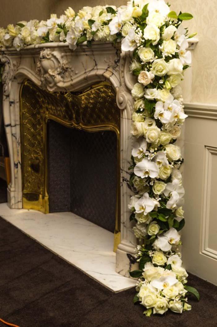 Floral Decorations at Dunbar House