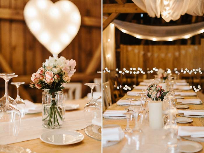 Barn Wedding Styling