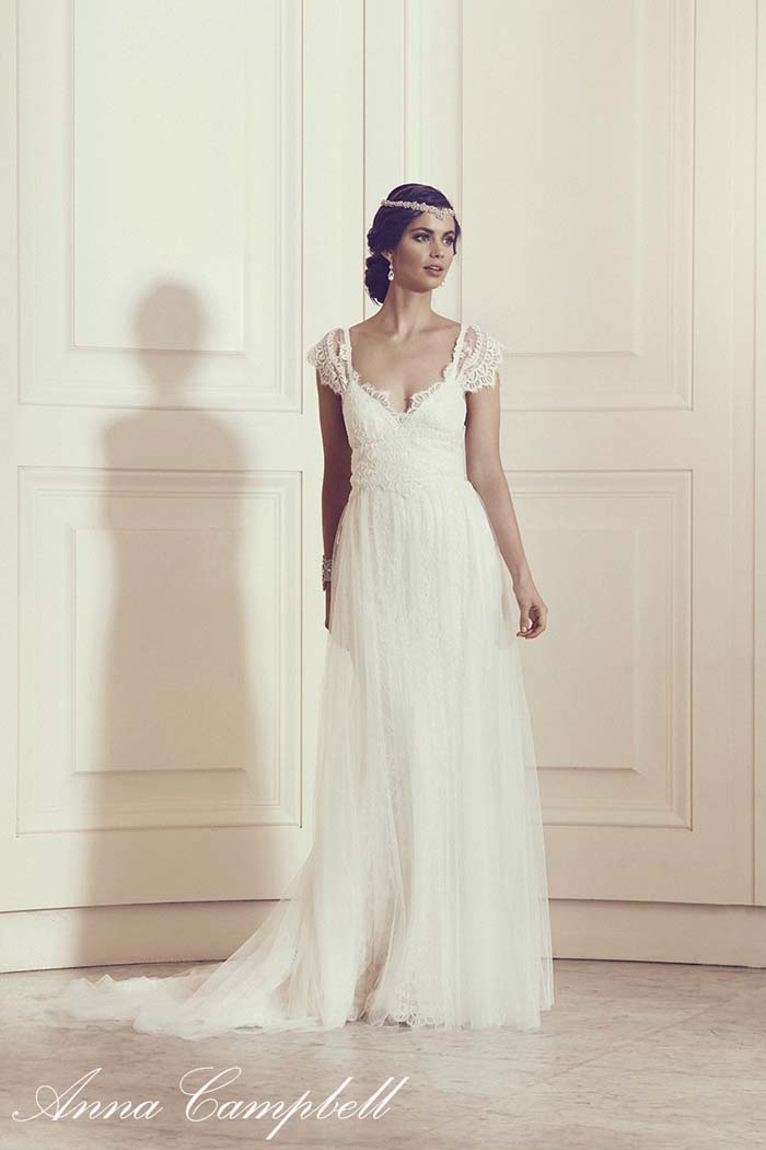 'Thalia' with Tulle Anna Campbell Gossamer Collection
