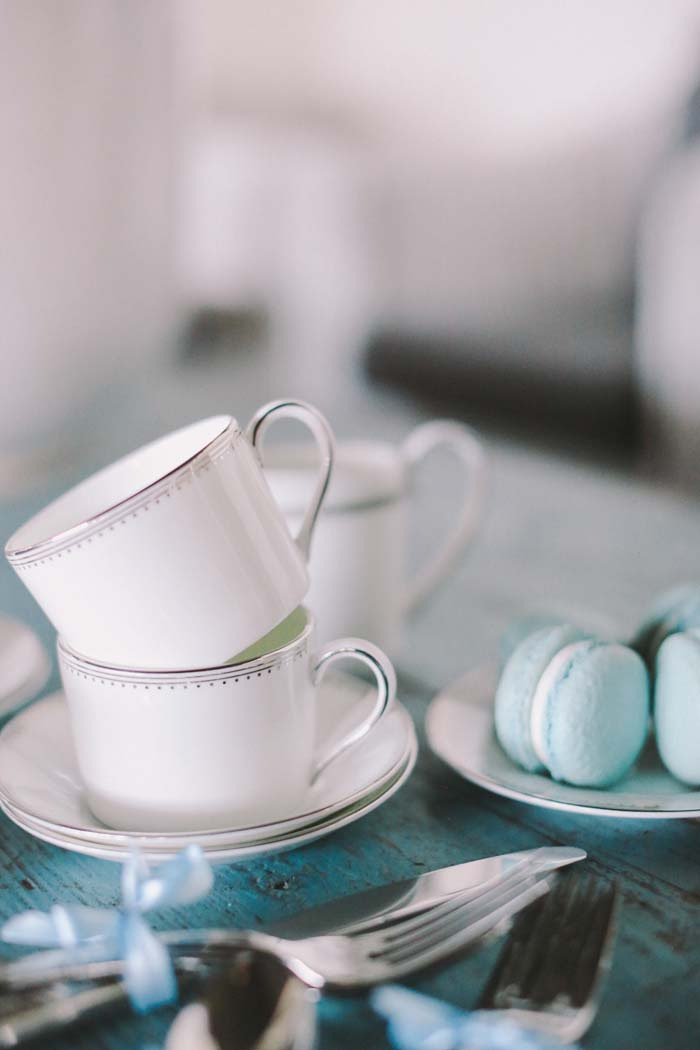 Vera Wang Wedgwood Grosgrain Teacups
