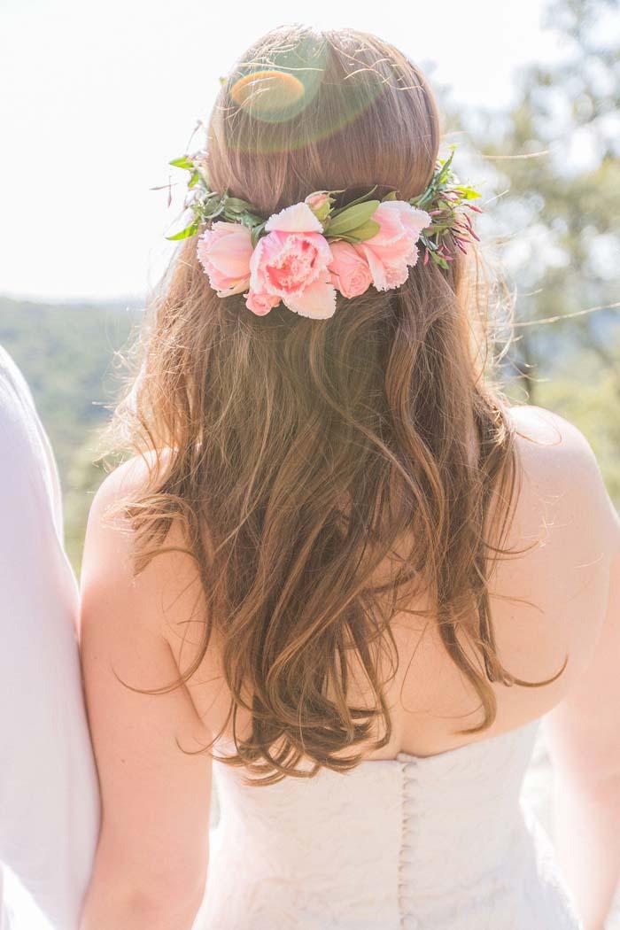 Bohemian Wedding Hair Cindy Tran
