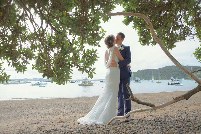 A Beautiful Bayside Wedding in the Bay of Islands
